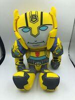 Transformers Authentic Hasbro Bumblebee Yellow Robot Plush Kids Soft Stuffed Toy