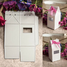 DIY Gift Box Template Manual Die Cut & Embossing Machines Paper Cutting Tool SET