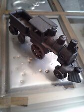 Antique Cast Iron Toy Train Set - Locomotive and Tender
