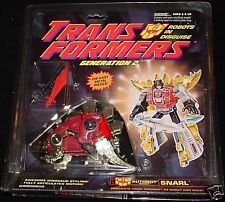 Transformers G2 Snarl (Red Variant) MISB