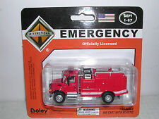"Boley #4503-11 International 7000 Brush Fire Truck ""Red"" H.O.Scale 1/87"