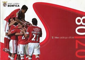 Benfica Lisbon Portugal Soccer Club 2008 Official Catalog Excellent Condition