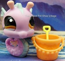 ☀LITTLEST PET SHOP☀PURPLE JAMAICA SEAHORSE #1115☀NEW☀PETS FROM AROUND THE WORLD☀