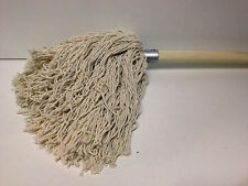 !NEW! Traditional Cotton Mop & 4ft Wooden Handle Pole Stale Floor Tiles Laminate