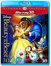 Beauty And The Beast (3D Blu-ray, 2011)