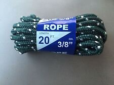20ft 3/8 braided rope 20 ft