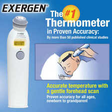 EXERGEN Temporal Scanner - Smart Glow Temporal Artery Thermometer TAT-2000C NEW