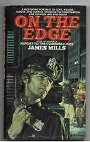 On the Edge by James Mills (1976 Ballantine pb - Crime, Times Square, The Deuce)