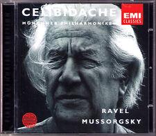 Sergiu CELIBIDACHE: MUSSORGSKY Pictures at an Exhubition RAVEL Bolero CD Munich