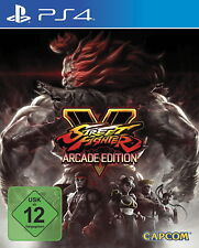 Street Fighter V - Arcade Edition (Sony PlayStation 4, 2018)