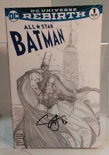 All Star Batman #1 (2016) 9.0 Vf/Nm Snyder/Romita Aspen Variant-Signed-No Coa