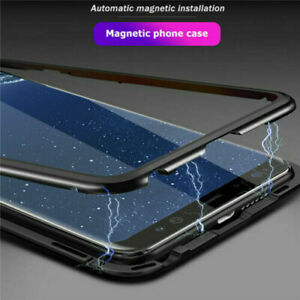 For Samsung Galaxy S10 / S10e / S10 Plus Magnetic Absorption Phone Metal Case
