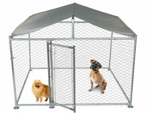 New Outdoor Dog Playpen Cage Pet Exercise Metal Large Fence Kennel Run