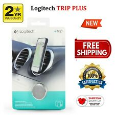 Logitech Trip Plus Mount For Cell Phones Smartphones Universal Magnetic Air Vent