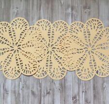 celebración Tapete Encaje de color pastel tapetes de papel Paquete de 12 decoraciones de fiesta