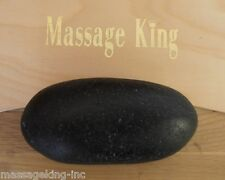 1 of Contour Stone 4 to 6 Inch Size Oblong Rounded Basalt Massage Hot Stone