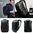 15.6 inch Waterproof Laptop Backpack Computer Notebook Bag +USB Charge Port..
