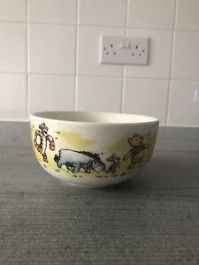 Winnie the Pooh Cereal Bowl - Winnie, Tigger, Eeyore, Piglet - New