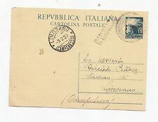P646-S.BIASE DI CAMPOBASSO ANNULLO EMERGENZA SU CP 15£