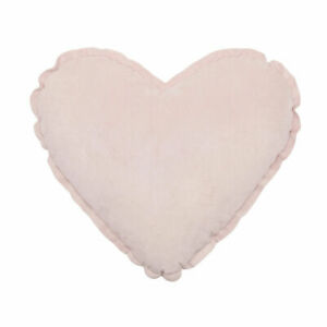 Heart Shape Cushion Throw Pillow Cover Home Decor For Child's Bedroom - Pink AU