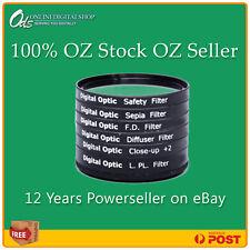ODS 6 Piece 37mm UV CPL Macro FLD Filter for Digital Camera DSLR Essential Kit