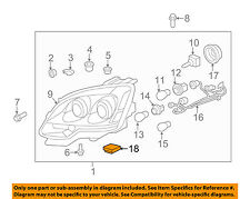GM OEM Combination Lamps Marker Corner Light-Front-Module 15849727