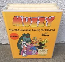 Muzzy~Spanish~Bbc Language Course For Children~Early Advantage~Vhs, Cd, Tapes