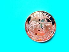 "PEACE TALKS 2018 "" TRUMP - KIM JUNG-UN ""  1 oz Copper .Round"