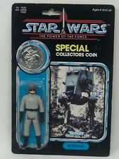 Vintage Star Wars POTF AT-ST Pilot Carded with Star Case