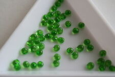 Transparent Emerald Toho Magatama Beads. 3mm. 150 beads. #7466