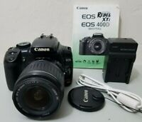 Canon Rebel XTi DSLR Camera with EF-S 18-55mm f/3.5-5.6 Lens CF card Stuck