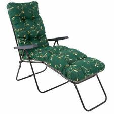 Coussins de jardin et terrasse chaison longs verts
