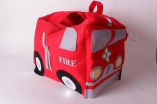 NWT Pottery Barn Kids Fire Truck Halloween costume 4-6 4 5 6
