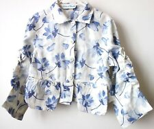 """VESTE 100% LIN marque """"KITCH"""" 6 ans Made in France état NEUF! Val. 120€"""