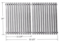 7521 Stainless Steel Cooking Grid Grate for Weber Genesis Silver A, Spirit 500,