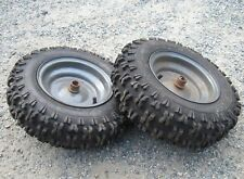 "2 Craftsman Noma Murray snowblower rim tires 4.8 x 8 tires sno hog 8"" Pair hawg"