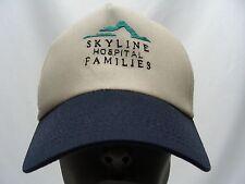 SKYLINE HOSPITAL FAMILIES - BEIGE - ADJUSTABLE SNAPBACK BALL CAP HAT!