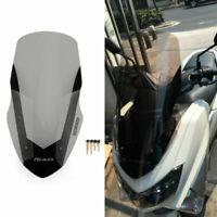 ABS Heightening Deflector Windshield Windscreen Fits Yamaha 16-18 Nmax 155 Sm