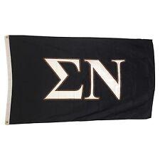 Sigma Nu Letter Flag 3' x 5' Sig Nu