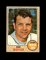 1968 Topps Baseball #259 Ken Boyer (White Sox) EXMT