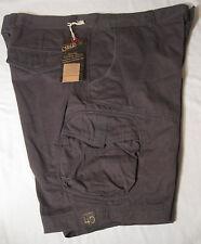 CARGO Mens Washed Utility Cargo Shorts NWT 40 Dark Gray