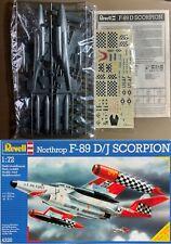 REVELL 4320 - NORTHROP F-89 D SCORPION - 1/72 PLASTIC KIT NUOVO (NO BOX)
