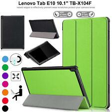 Para Lenovo Tab E10 TB-X104F Funda de Piel Soporte Magnético Delgado Libro Smart