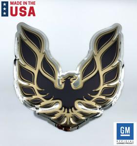 "Pontiac Firebird Trans Am Logo Emblem Metal Sign - Licensed (23""x23"")"