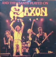 SAXON And The Bands Played On-Hungry Years, Heavy Metal Thunder Carrere EX