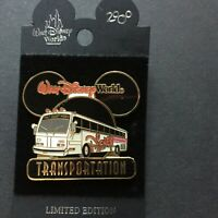 WDW Transportation Series 2000 Bus SOLD OUT LE 5000 Disney Pin 2465