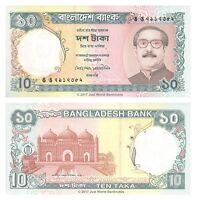 Bangladesh 10 Taka 1997 P-33 Banknotes UNC