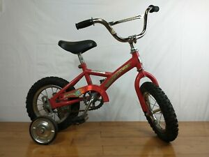 """1980's 12"""" mongoose kids bicycle red very* rare* bike collectors"""