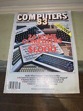 "Mechanix Illustrated Magazine June  1983 "" Computers "" Vol 1 Number 5"