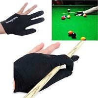 1PC Nylon Left Three Finger Gloves Shooter Pool Billiards Glove Indoor Games